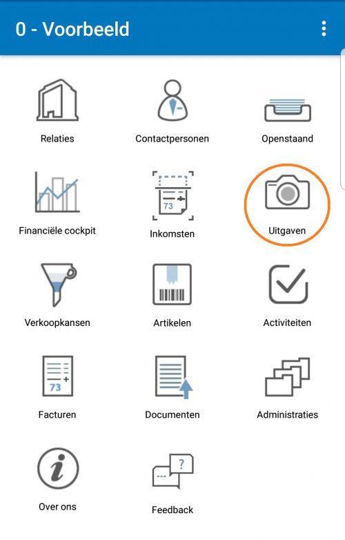 Online boekhouden - Uitgaven uploaden administratienl